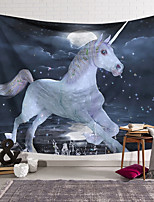 cheap -Wall Tapestry Art Decor Blanket Curtain Hanging Home Bedroom Living Room Decoration Polyester Unicorn