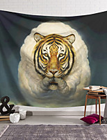 cheap -Wall Tapestry Art Decor Blanket Curtain Hanging Home Bedroom Living Room Decoration Polyester Sheep Tiger
