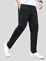 cheap -Men's Hiking Pants Trousers Solid Color Summer Outdoor Regular Fit Anti-Mosquito Ultraviolet Resistant Breathable Soft Pants / Trousers Black Fishing Climbing Beach M L XL XXL XXXL