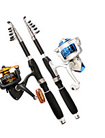 cheap -Fishing Rod Telescopic Rod 100/120 cm Portable Lightweight Sea Fishing