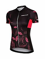 cheap -womens short cycling jersey girl bicycle clothes female quick-dry tops shirt