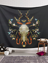 cheap -Wall Tapestry Art Decor Blanket Curtain Hanging Home Bedroom Living Room Decoration Polyester Skull