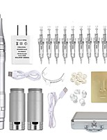 cheap -Professional Permanent Makeup Pen Wireless Tattoo Machine Kit With 10pcs Needles Microblading Supply for Eyebrow Lip Eyeliner