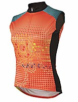 cheap -matrix women's sleeveless cycling jersey xs - women's orange