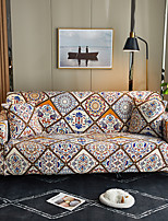 cheap -Morocco Couch Cover 1 Piece Furniture Protector Fit For 14 Seater Couch Soft Stretch Slipcover Spandex Jacquard Fabric Easy to Install(1 Free Cushion Cover)