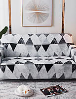 cheap -1 Pc Sofa Cover Geometric Black Gray Triangle  Elastic Sofa Cover To Living Room Pet Sofa Dust Cover Recliner Sofa Cover
