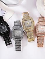 cheap -Women's Steel Band Watches Analog Quartz Glitter Classic Diamond