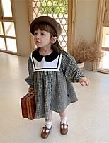cheap -children's clothing girls dresses spring 2021 new plaid skirt western style little girl princess dress children skirt
