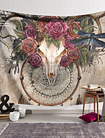 cheap -Wall Tapestry Art Decor Blanket Curtain Hanging Home Bedroom Living Room Decoration Polyester Skull Dragonfly Butterfly