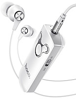 cheap -HOCO E52 Wired In-ear Earphone Bluetooth5.0 Stereo with Microphone with Volume Control for Apple Samsung Huawei Xiaomi MI  Mobile Phone