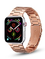 cheap -Watch Band for Apple Watch Series 6 / SE / 5/4 /3/2/1  44mm  40mm 42mm 38mm  Business Band Stainless Steel thin Wrist Strap