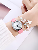 cheap -Kids Quartz Watches Analog Quartz Stylish Cartoon Creative / PU Leather