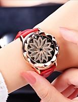 cheap -Women's Quartz Watches Analog Quartz Stylish Floral Style Fashion Water Resistant / Waterproof / PU Leather