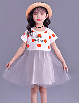 cheap -2021 new summer girls' dresses, children's skirts, baby girls' children's clothing, net gauze skirts, princess dresses