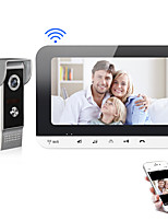 cheap -XINSILU XSL-V70MG-WIFI WIFI / Wired Photographed / Recording 7 inch Hands-free 800*480 Pixel One to One video doorphone