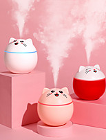 cheap -200ml Lucky Cat USB Air Humidifier Ultrasonic Aroma Diffuser Mini Car Mist Maker with LED Lights Portable Office Air Purifier