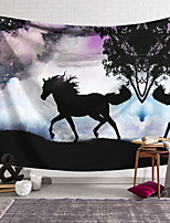 cheap -Wall Tapestry Art Decor Blanket Horse Curtain Hanging Home Bedroom Living Room Decoration and Fantasy and Animal