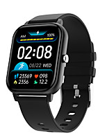 cheap -KT50 Unisex Smartwatch Bluetooth Heart Rate Monitor Blood Pressure Measurement Calories Burned Long Standby Media Control ECG+PPG Stopwatch Pedometer Call Reminder Activity Tracker