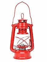 cheap -vintage kerosene lamp iron lantern oil lamp burning lantern oil lamp decoration for hiking adventure (red)