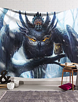 cheap -Wall Tapestry Art Decor Blanket Eagle Curtain Hanging Home Bedroom Living Room Decoration and Fantasy and Animal