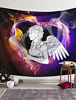 cheap -Wall Tapestry Art Decor Blanket Curtain Hanging Home Bedroom Living Room Colourful Polyester aAngel