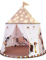 cheap -Play Tent & Tunnel Playhouse Teepee Castle Foldable Convenient Polyester Gift Indoor Outdoor Party Favor Festival Fall Spring Summer 3 years+ Boys and Girls Pop Up Indoor/Outdoor Playhouse for Boys
