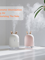 cheap -220ML Ultrasonic Air Humidifier USB Cute Rabbit Deer Aromatherapy Essential Oil Diffuser With Colorful LED Light For Home Office