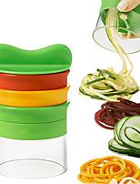 cheap -Grater Handheld Spiralizer Vegetable Slicer 3 in 1 Hand Spiral DIY Cutter Veggie Pasta Zucchini Spaghetti Maker for Carrots Salad Cucumber