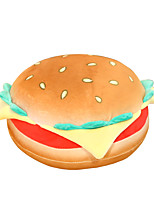 cheap -Plush Toy Sleeping Pillow Stuffed Animal Plush Toy Pillow Hamburger Gift Cute Soft Plush Imaginative Play, Stocking, Great Birthday Gifts Party Favor Supplies Boys and Girls Kid's Adults'