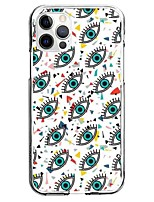 cheap -Creative Eye Case For Apple iPhone 12 iPhone 11 iPhone 12 Pro Max Unique Design Protective Case Pattern Back Cover TPU