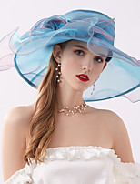 cheap -Other Hats with Flower 1 Piece Party / Evening / Horse Race Headpiece