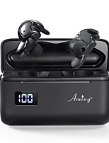 cheap -Aminy U-mini2 Wireless Earbuds TWS Headphones Bluetooth True Wireless Stereo HIFI with UV Sterilization Charging Box Auto Pairing LED Power Display for Mobile Phone