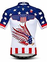 cheap -men's cycling jersey shorts sleeve bicycle clothing biking top bike shirt usa flying size xxxl