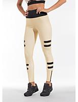 cheap -Women's Stylish Chino Comfort Daily Fitness Sweatpants Pants Color Block Full Length Elastic Waist Print Khaki