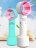 cheap -1Pcs Mini Fan Ventilator Handheld Bladeless Fan Handheld No Leaf Handy Fan Rechargeable Cooler Home Appliance