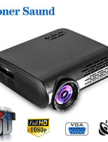 cheap -Poner Saund M2 WIFI Projector LED Projector 3D Support 1080P Home Beamer Optional Android 6.0 WiFi HDMI USB AV Video Bluetooth Proyector