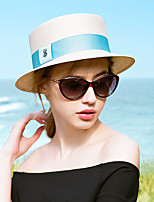cheap -Lady 100% Micro Fiber Hats with Trim 1 Piece Party / Evening / Casual Headpiece