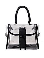 cheap -Women's Bags Top Handle Bag Daily Outdoor Handbags Black Blushing Pink Beige Gray