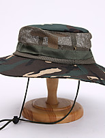 cheap -Men's Sun Hat Fishing Hat Hiking Hat Outdoor UV Sun Protection Windproof UPF50+ Quick Dry Spring Summer Hunting Ski / Snowboard Fishing Camouflage Color Camouflage Blue Jungle camouflage / Breathable