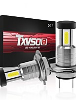 cheap -TXVSO8 Car LED Headlamps H9 / H7 / H11 Light Bulbs 26000 lm COB 110 W 3 For universal All Models All years 2pcs