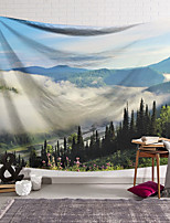 cheap -Wall Tapestry Art Decor Blanket Curtain Hanging Home Bedroom Living Room Decoration Polyester Cloud Landscape
