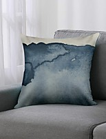 cheap -Double Side 1 Pc Colour Block Cushion Cover  Print 45x45cm Linen for Sofa Bedroom