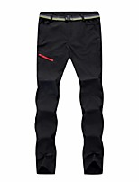 cheap -Men's Hiking Pants Trousers Solid Color Summer Outdoor Tailored Fit Waterproof Quick Dry Breathable Wear Resistance Bottoms Black Army Green Grey Khaki Hunting Fishing Climbing S M L XL XXL