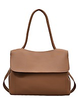 cheap -Women's Bags Top Handle Bag Hobo Bag Date Office & Career 2021 Handbags White Black Brown Coffee