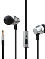 cheap -AWEI ES-910i Wired In-ear Earphone 3.5mm Audio Jack Stereo with Microphone with Volume Control HIFI InLine Control for for Mobile Phone