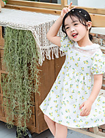 cheap -children's skirts girls lace skirts 2020 summer new children's floral skirts, small and medium-sized children's princess dresses