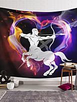 voordelige -wandtapijten art decor deken gordijn opknoping thuis slaapkamer woonkamer kleurrijke polyester centaur