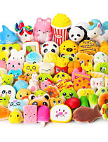 cheap -Squishy Squishies Squishy Toy Squeeze Toy / Sensory Toy 70 pcs Food Cake Dessert Soft Stress and Anxiety Relief Kawaii For Kid's Adults' Boys and Girls