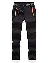 cheap -Women's Hiking Pants Trousers Patchwork Summer Outdoor Tailored Fit Waterproof Quick Dry Breathable Wear Resistance Bottoms Black Army Green Orange Rose Red Hunting Fishing Climbing M L XL XXL XXXL