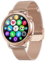 cheap -V25 Women's Smartwatch Bluetooth Heart Rate Monitor Blood Pressure Measurement Thermometer Health Care Female Physiological Cycle Stopwatch Pedometer Call Reminder Activity Tracker Sleep Tracker